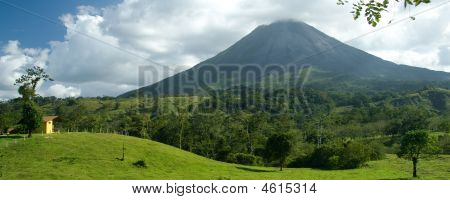 The Arenal Volcano