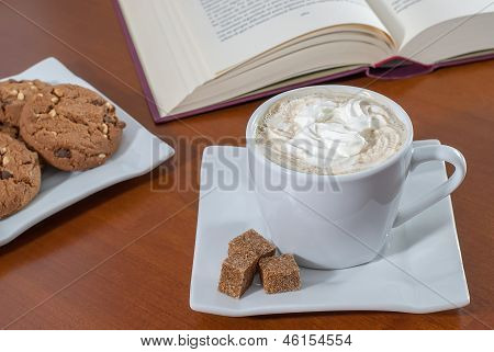 Coffee And Chip Cookies
