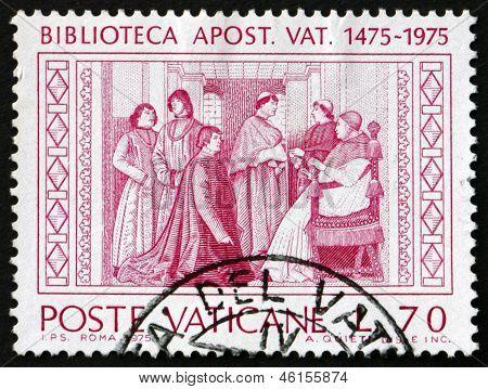 Postage Stamp Vatican 1975 Vatican Apostolic Library