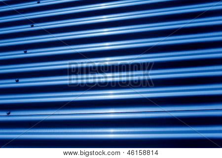 Corrugated Iron Structure
