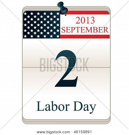 Calendar For Labor Day