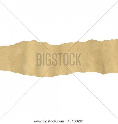 Old Fragmentary Paper Border
