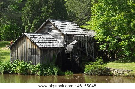 Mabry Mill - Blue Ridge Parkway, Virginia.