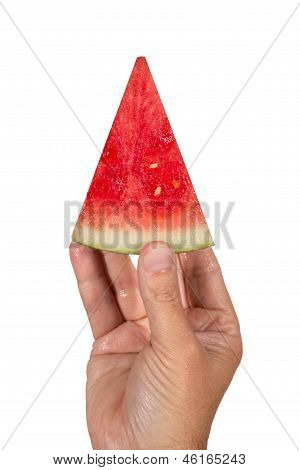 The Perfect Slice Of Watermelon