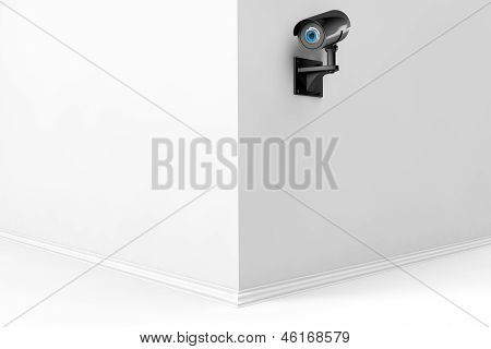 3D Security Camera With Eye