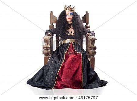 Queen With Gold Crown