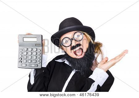 Woman Tax Accountant