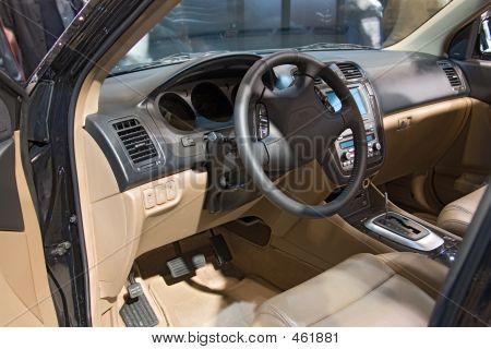 Transportation 029 Auto Show Inside Car