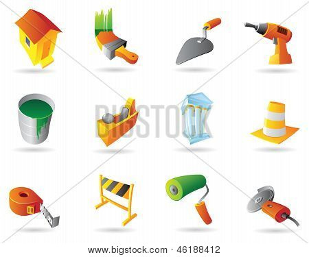 Icons For Construction Industry