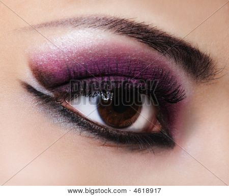 Fashion Violet Make-up