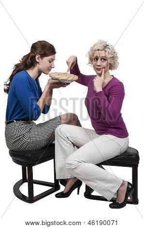 Women With Pie