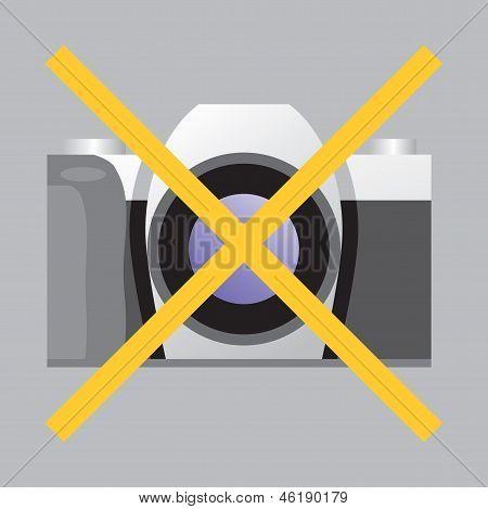 Prohibiting Sign No Photo