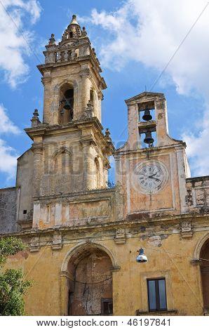 Clocktower. Tricase. Puglia. Italy.