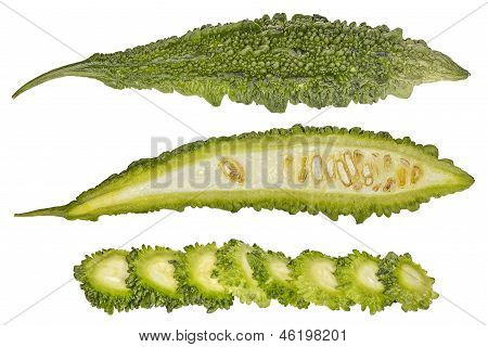 Bitter Melon Macro - Momordica Charantia