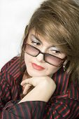 picture of swagger  - Portrait of a young attractive business woman - JPG