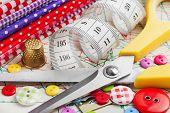 image of sewing  - Sewing items - JPG
