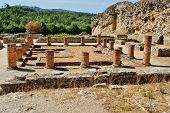 image of exhumed  - Portuguese Roman ruins in Conimbriga - JPG