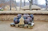 pic of kimchi  - House in traditional Kimchi  Korean Folk Village in the city of Yongin - JPG