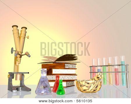 Equipamento de laboratório, pesquisa