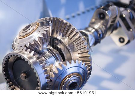 Steel Crankshaft With Cogwheel