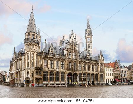 old town square, Ghent
