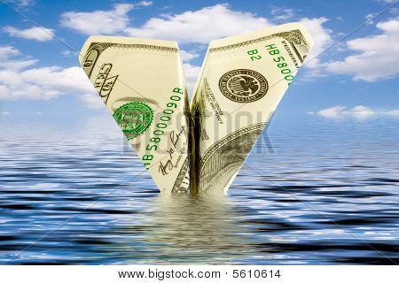 Crisis. Money Plane Wreck