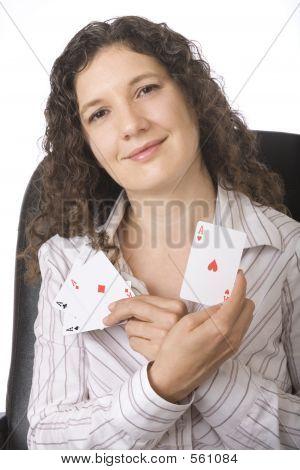 Empresaria, Reina de corazones