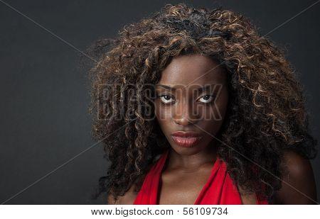 Elegant African Model