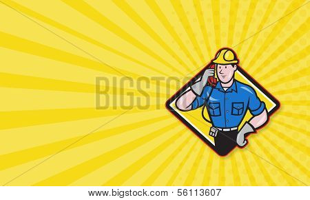 Telephone Repairman Lineman Worker Phone