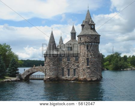 Boldt Castle on Ontario Lake