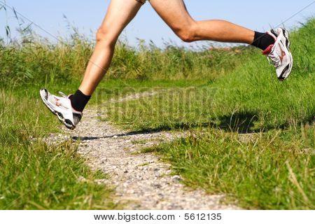 Correr en pista