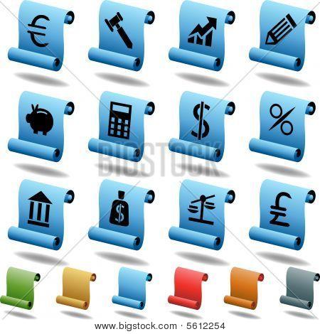 Banking Scroll Set