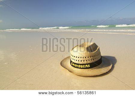 Hat On Beach