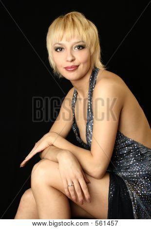 Smile Blonde Girl
