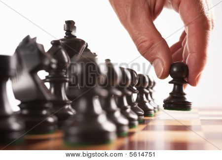 Chess Black Player First Move