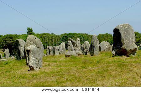 Standing Stones ,Carnac ,France.