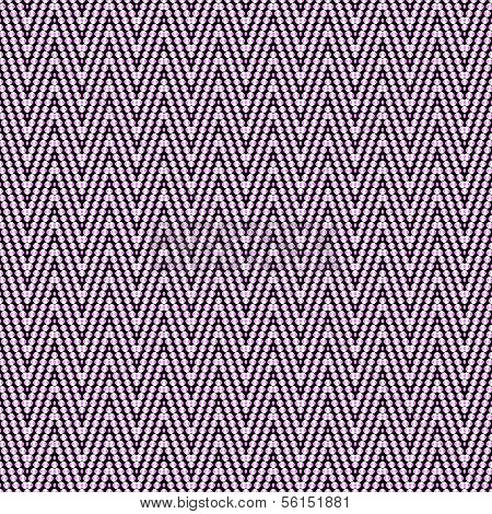 Seamless argyle pattern, composed of dots