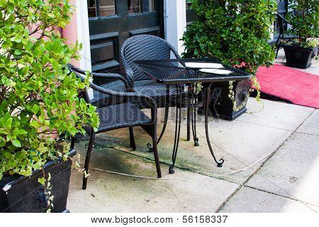 Outdoor Restaurant Cafe