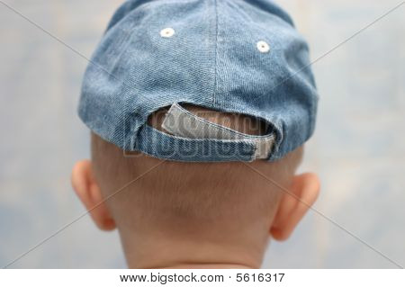 Back Of Child Head And Cap