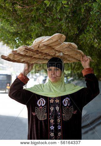 Woman Bread Seller