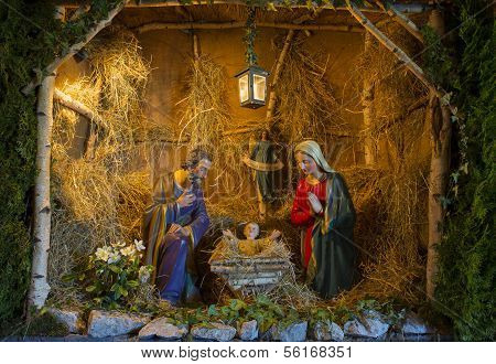 Nativity Scene Christmas