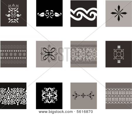 Intricate Patterns Background