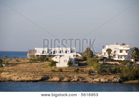 Cyclades Greek Island Architecture On Paros Island