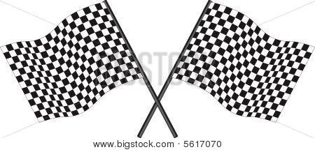 Bandera de Racing