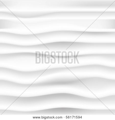 vector abstract seamless background with gray waves