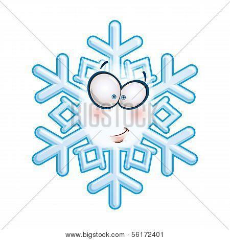 Snowflake Head - Smirk