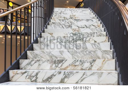 Art Deco Marble Stairs