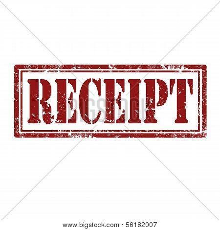Receipt-stamp