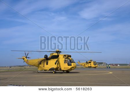 Seaking Search And Rescue Helicopter