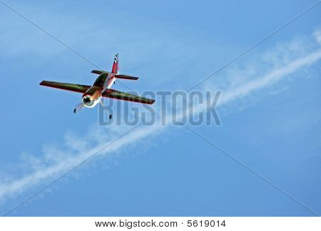 Model aircraft / aeroplane/ plane flying